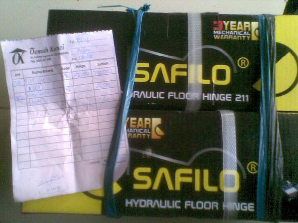 Hydraulic Floor Hinge
