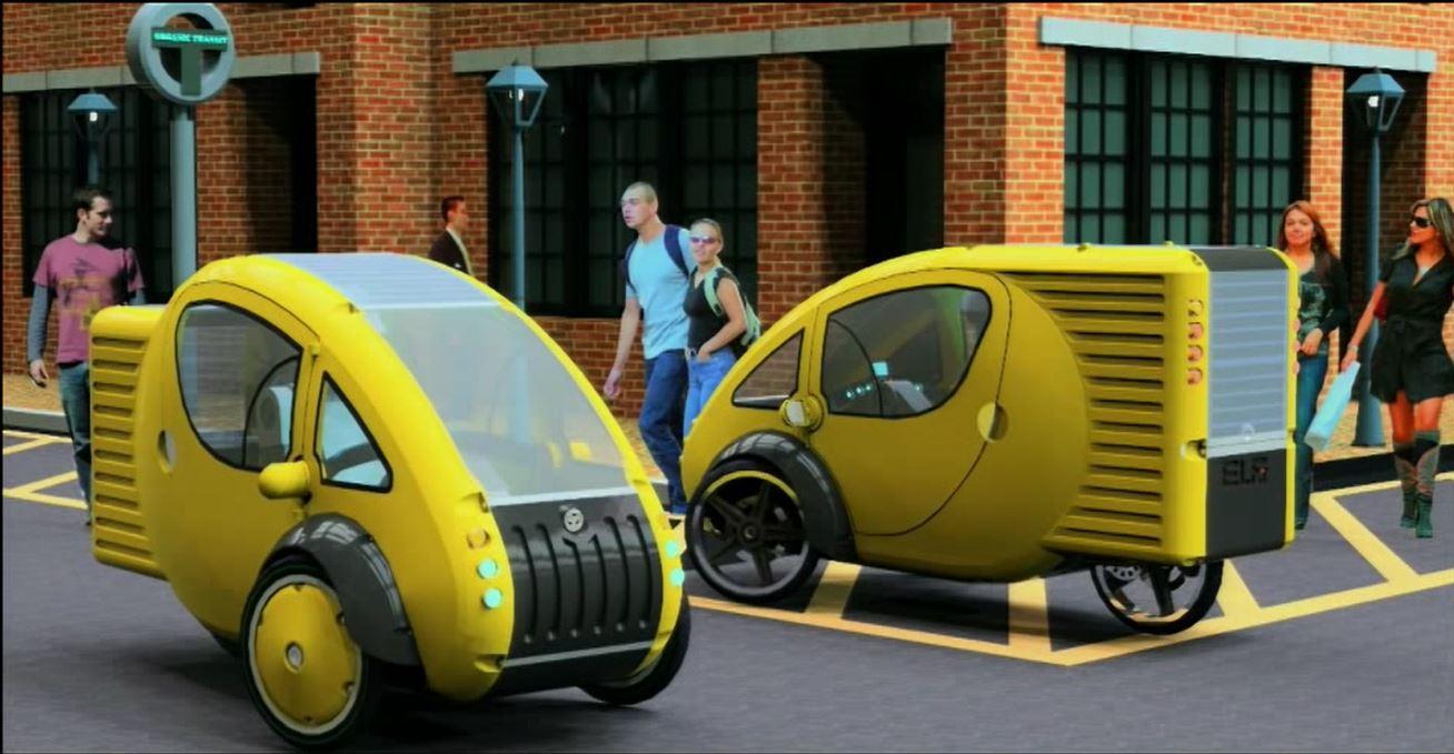 utility cycling technology elf car. Black Bedroom Furniture Sets. Home Design Ideas