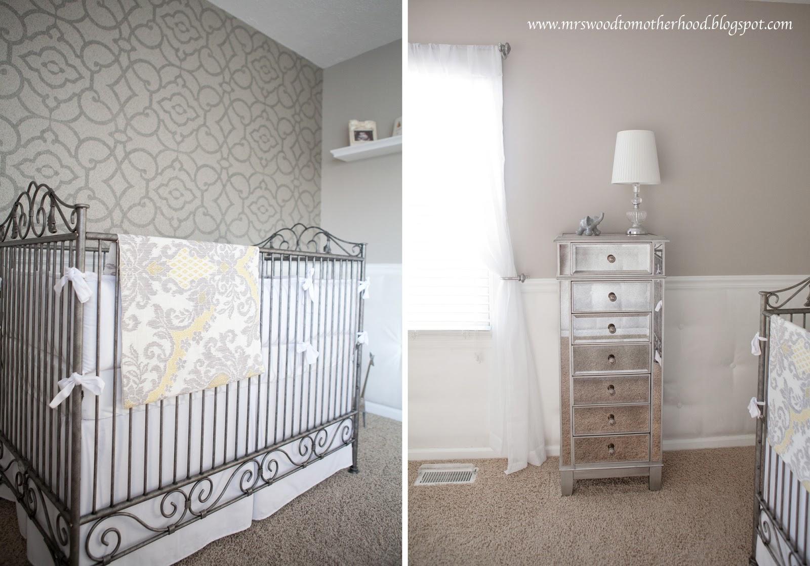 Mrs. Wood to Motherhood: Nursery Reveal!!!