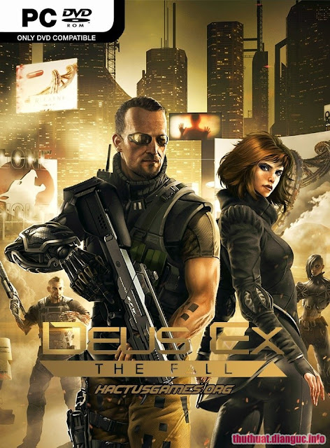 Download Game Deus Ex The Fall - RELOADED Fshare