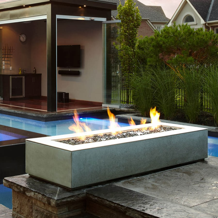 rectangular outdoor fireplace paloform robata. Black Bedroom Furniture Sets. Home Design Ideas