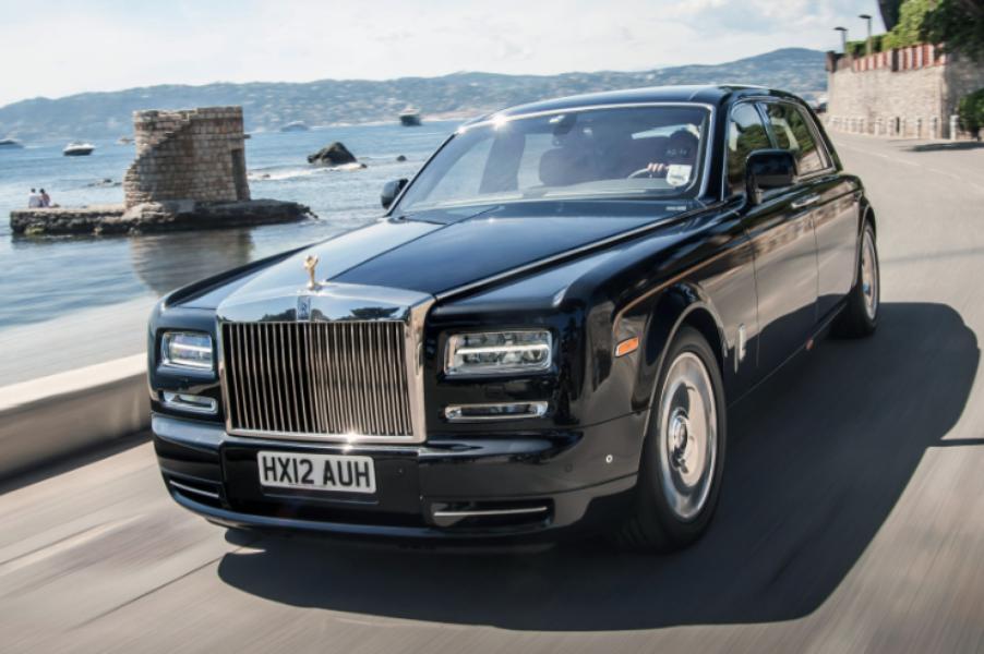 Gambar Mobil The Rolls-Royce Phantom Extended Wheelbase