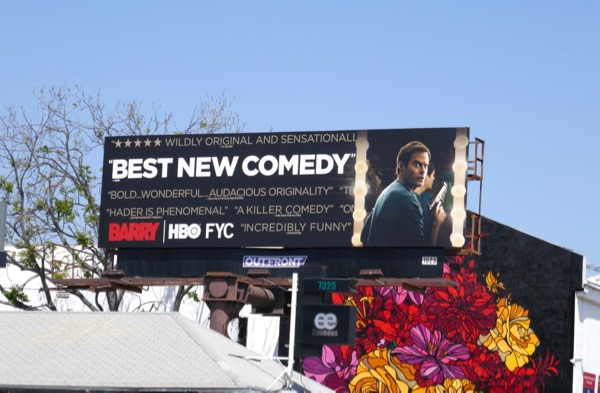 Barry season 1 Emmy FYC billboard