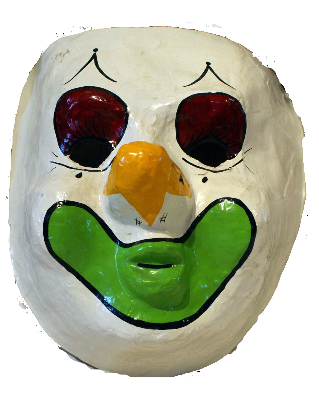 Halloween - The Greatest Holiday of All: Creepy Vintage Clown Mask ...