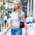 Hannah Ferguson vai as audições para o Victoria's Secret Fashion Show 2017, em Midtown, em Nova York - 17/08/2017