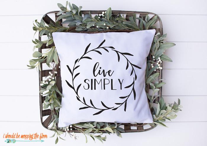 Live Simply SVG