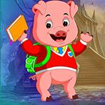 Games4King -  Student Pig Escape