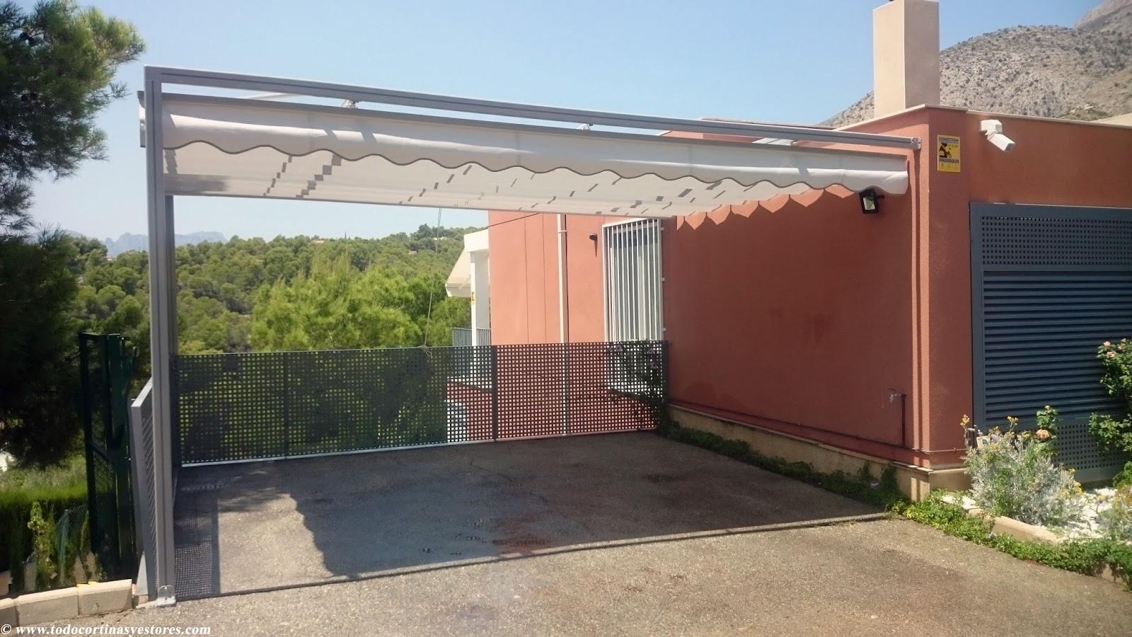 Decoracion interior cortinas verticales estores - Perfiles aluminio para pergolas ...