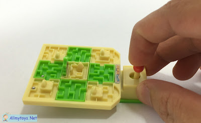 Mini pocket toys maze retro