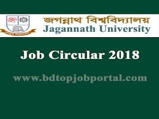 Jagannath University Professor, Assistant Professor and Lecturer Job Circular 2018