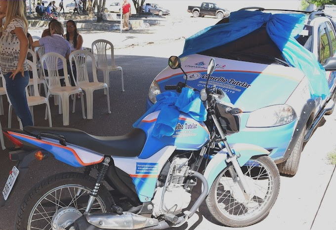 Prefeitura de Chapadinha através da secretaria de assistência social entrega novos veículos ao Conselho Tutelar