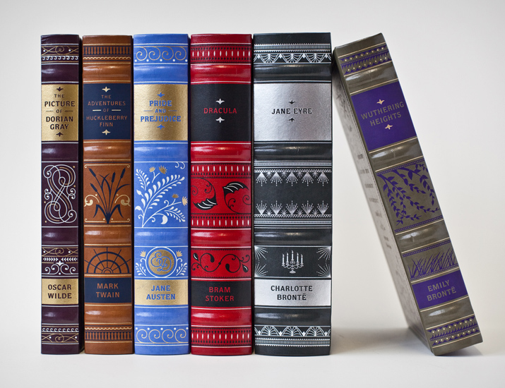 Pretty Book Covers Classics ~ One girl collecting barnes noble leather bound editions