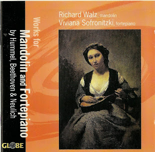 Works For Mandolin And Fortepiano by Hummel, Beethoven & Neuling