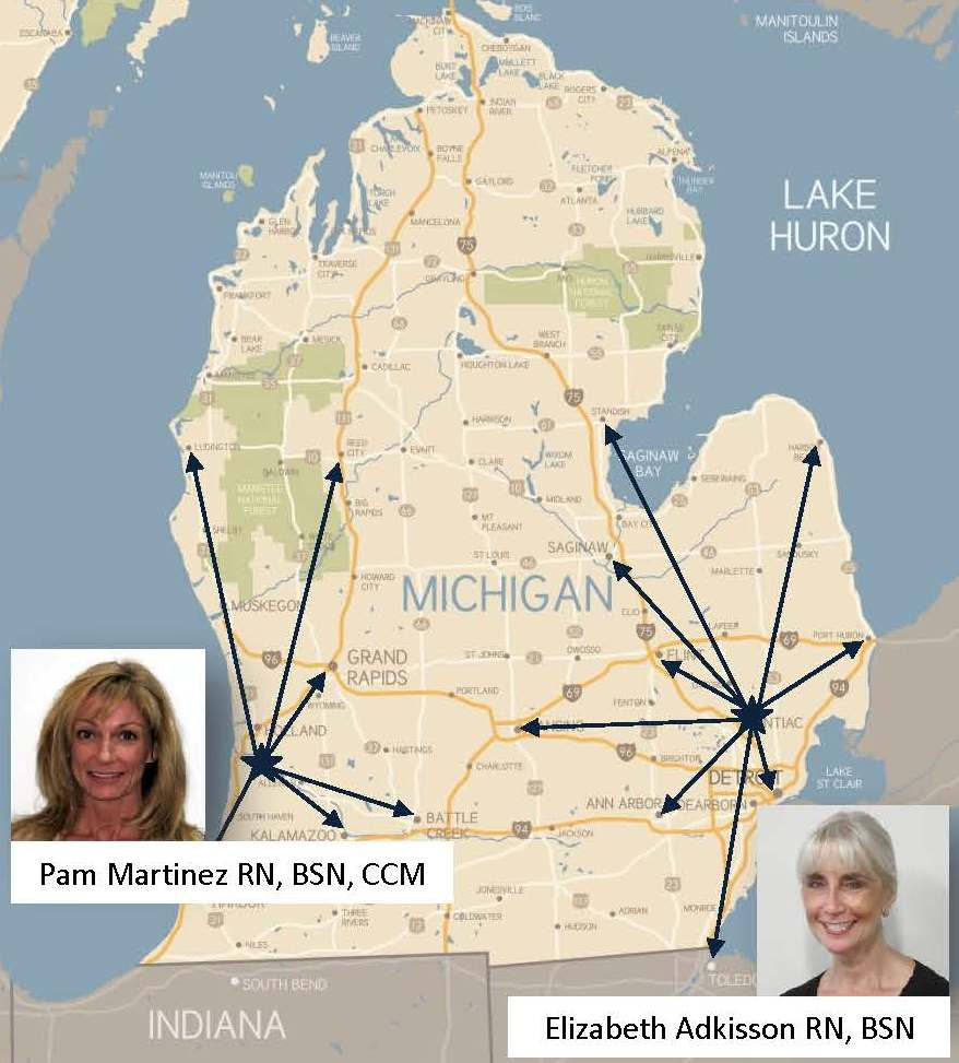 pam and elizabeth are ready to handle your michigan work comp and auto pip claims with the quality and excellence you have come to rely on from our triune