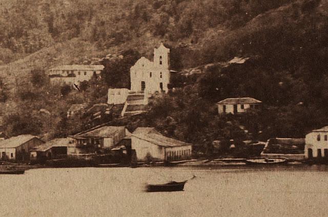 Vitória, 1860. Foto de Jean Victor Frond.
