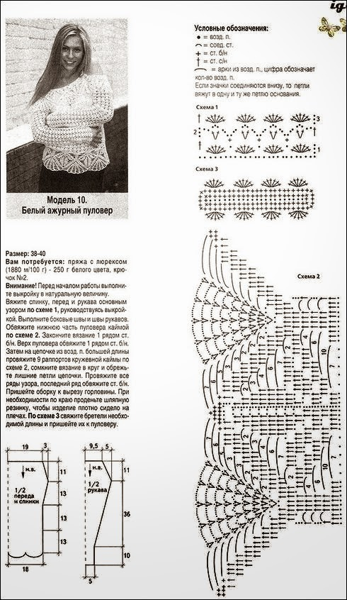 Suéter de hombros descubiertos al crochet / patrones | Crochet y Dos ...