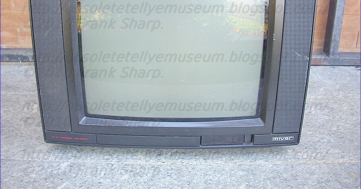 Obsolete Technology Tellye !: MIVAR 17L1 BIFONICO YEAR 1990.