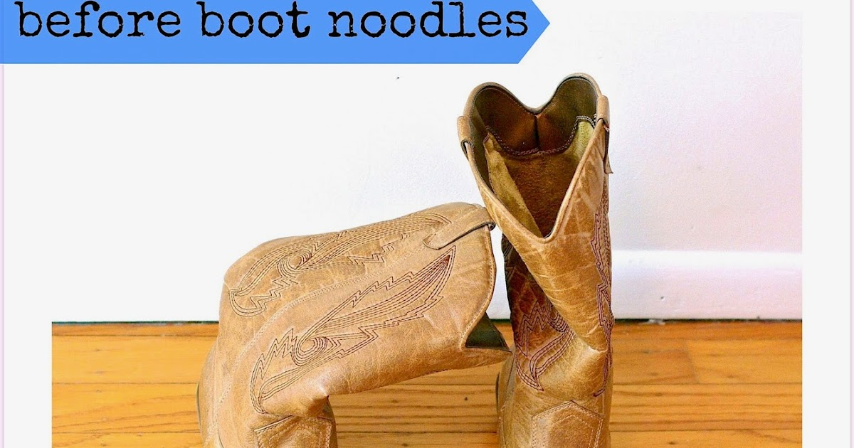 Sew Sweet Vintage Foam Boot Noodles