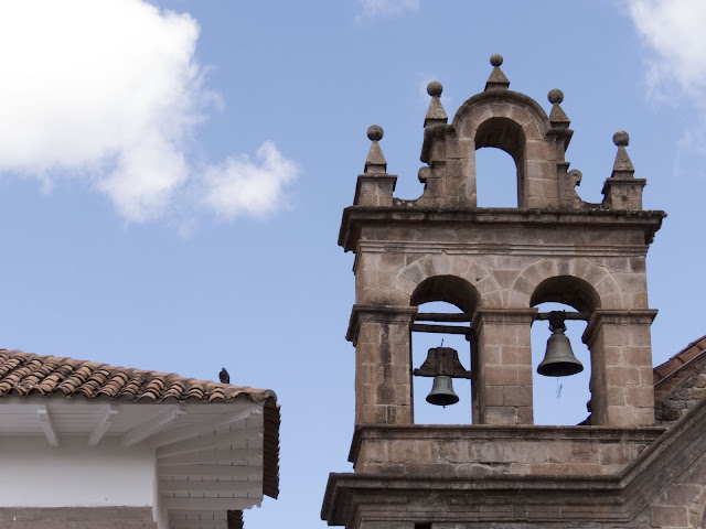 3 days in Cusco: Church bells in Cusco Peru