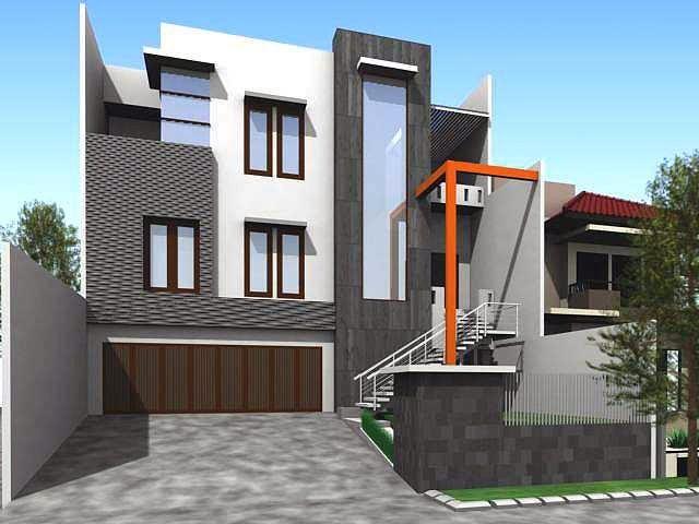 model rumah bertingkat minimalis 2