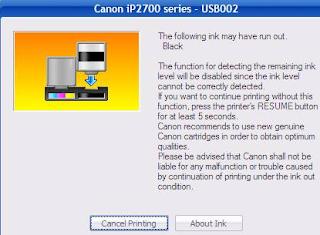 Cara memperbaiki cartridge printer canon ip Cara Memperbaiki Cartridge Printer Canon IP2770 Tidak Terdeteksi