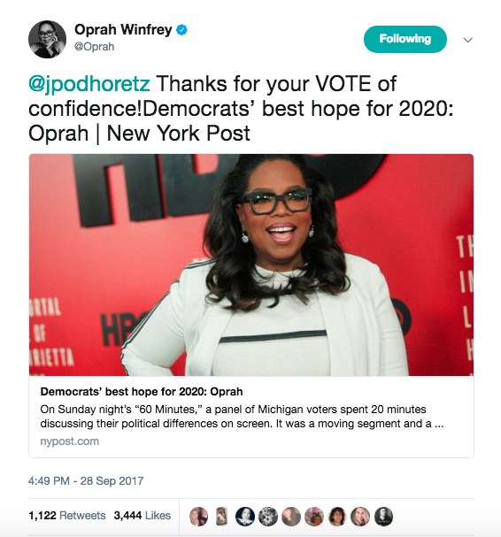 Uh-uh! Oprah Winfrey fuels rumour she