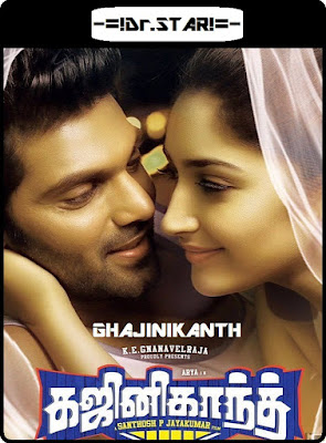 Ghajinikanth 2018 Dual Audio UNCUT HDRip 480p 450Mb x264