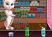 Talking Angela Great Shopping juego