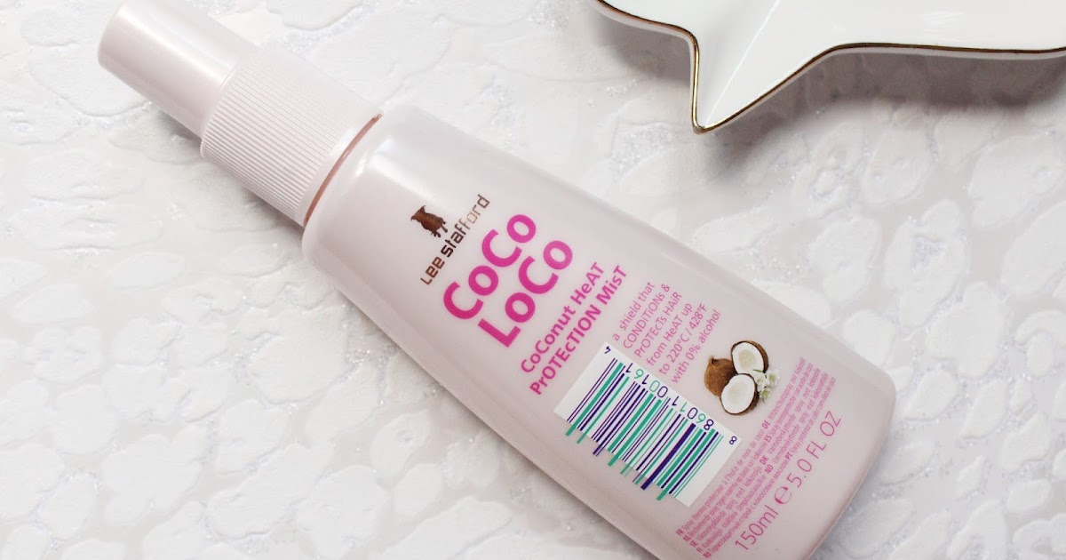 Lee Stafford Coco Loco Heat Protection Spray Hannah Heartss