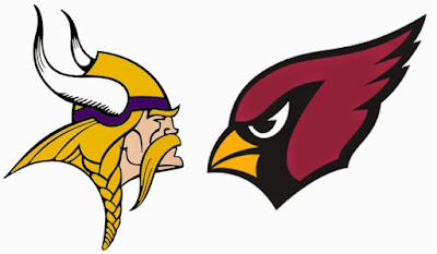 NFL : Cardinals, Vikings in a Toss-Up