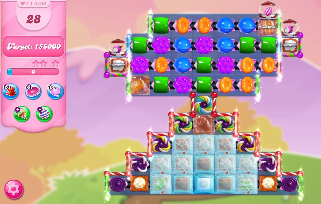 Candy Crush Saga level 6193