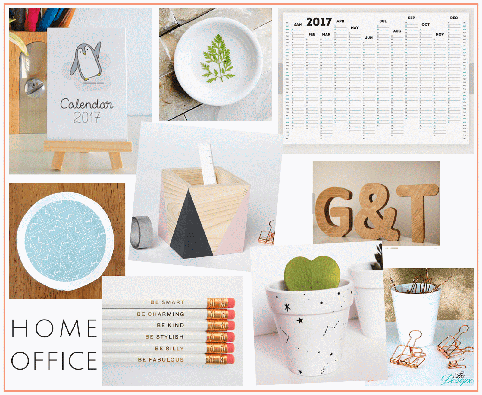 organisation gift guide from small businesses etsy