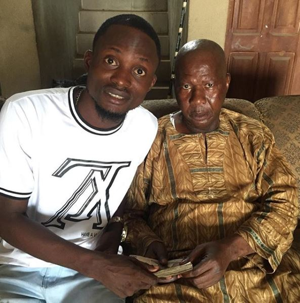 Dying Veteran Actor Baba Suwe Gets Cash Gift
