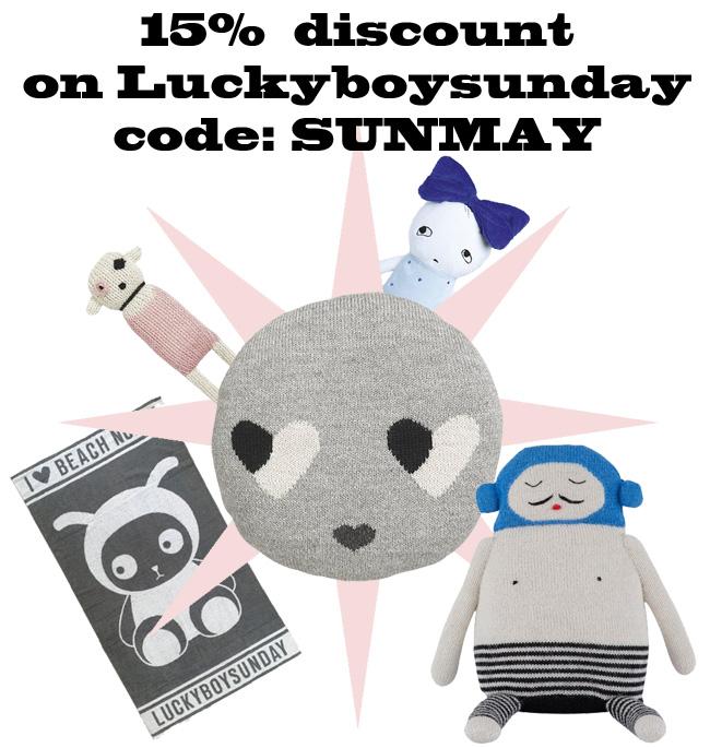 Luckyboysunday knuffels
