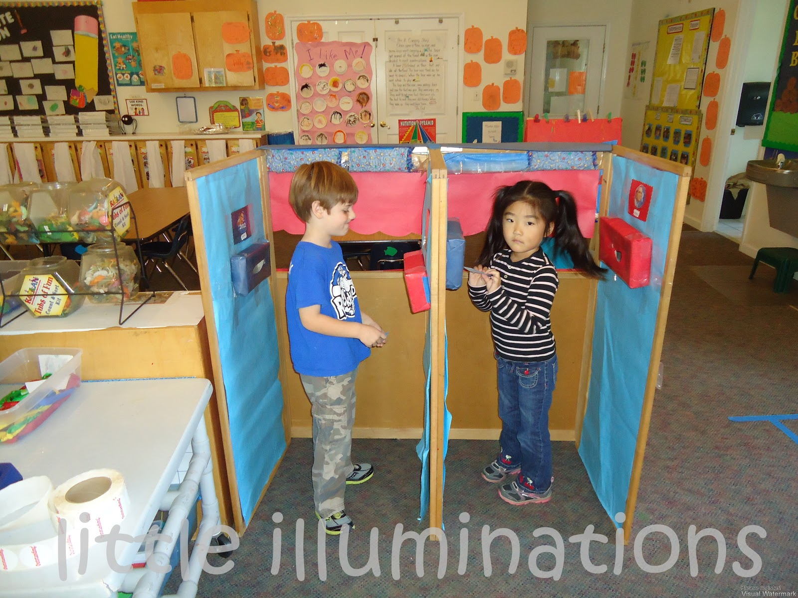 Little Illuminations Election Day In Pre K