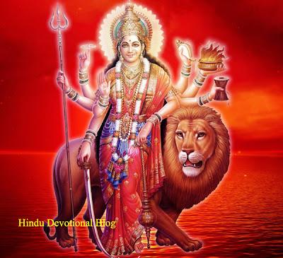 Navratri Goddess Durga Picture