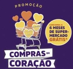 Ganhadores Nova Promoção Compras do Coração Seis Meses Supermercados Grátis
