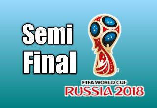 Babak Semifinal Piala Dunia 2018 Russia