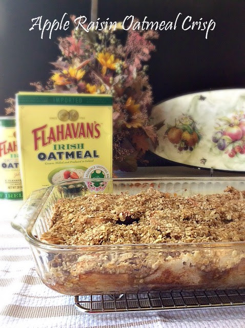 Apple Raisin Oatmeal Crisp