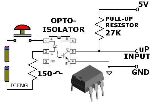 l u0026 39 optocoupleur   principe de fonctionnement