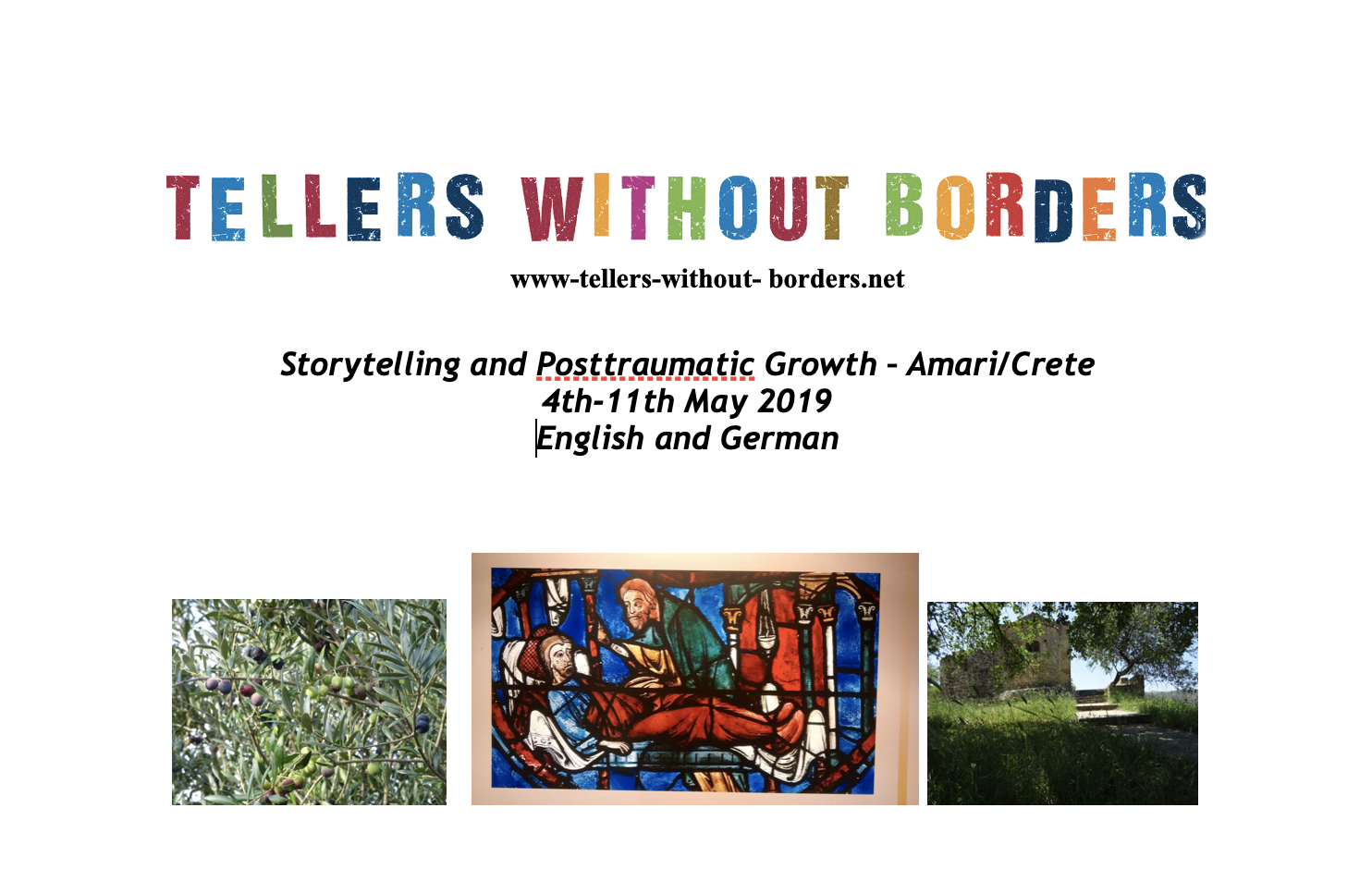 Storytelling and Posttraumatic Growth in Amari/Crete