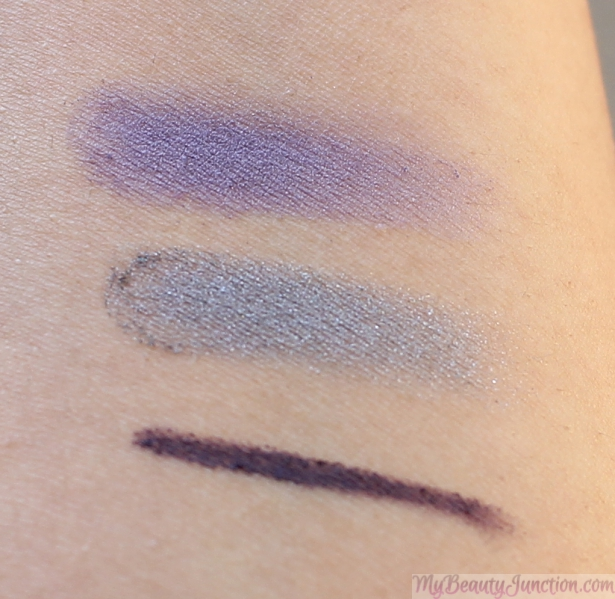 Bourjois Intense Smoky Eyeshadow and Liner Trio review, swatches