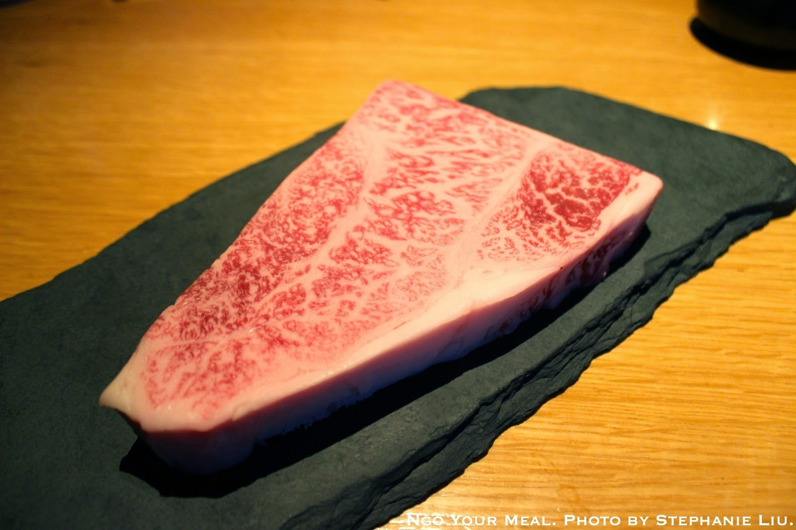 Wagyu from Miyazaki, Japan: daily selection of grade A5, Japanese beef at En Japanese Brasserie