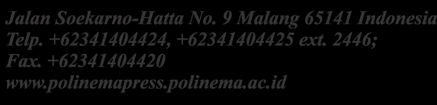 Polinema Press