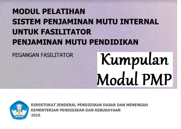 Download Modul Pelatihan PMP Tahun 2017