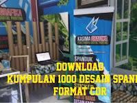 Download Kumpulan 1000 Contoh Desain Spanduk Format CDR Gratis