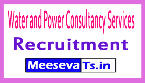Water and Power Consultancy Services WAPCOS Recruitment