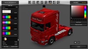 Sušak Promet Red Lady Skin for Scania RJL