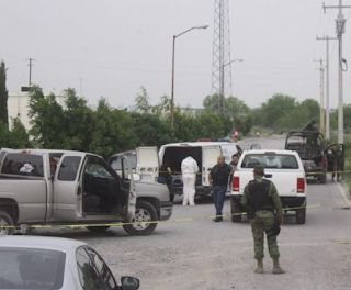 Balacera en Reynosa Tamaulipas deja un abatido