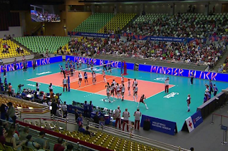 FIVB Women's VNL Volleyball Pictures Biss Key 25 May 2018